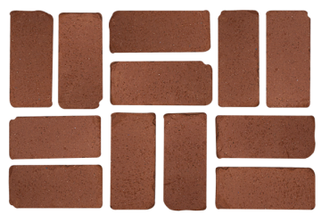 PLANTATION RED TUMBLED PAVERS
