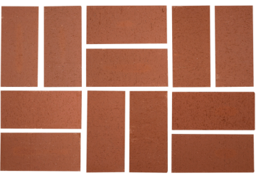PLANTATION RED WIRECUT PAVERS