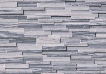 Alaska Gray 3D Honed - Natural Stone Panel