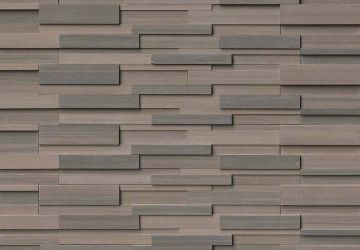 Brown Wave 3D Honed - Natural Stone Panel