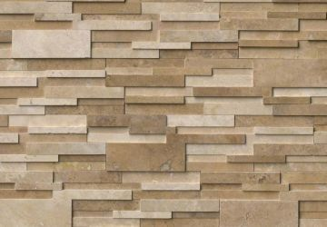 Casa Blend 3D Honed - Natural Stone Panel