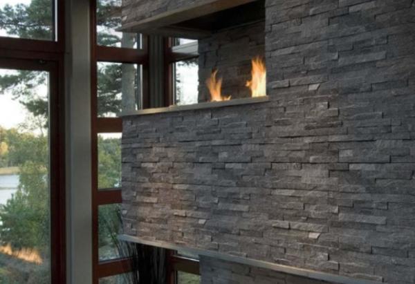 Coal Canyon Natural Stone Panel Thin Stone Brick It