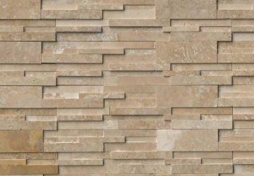 Durango Cream 3D Honed - Natural Stone Panel