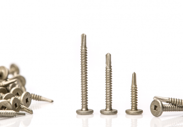 Pancake Head Drill Point Screw