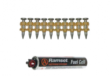 Ramset Trakfast Breakaways Fuel/Pin Pack 1000 PCS